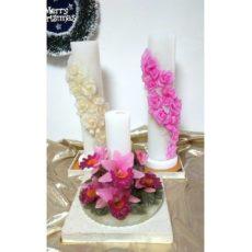 花の香りキャンドル 3種類 サムネイル