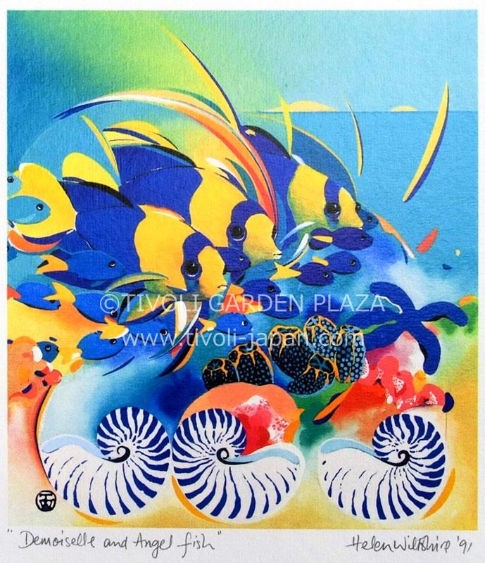 Demoiselle and Angelfish