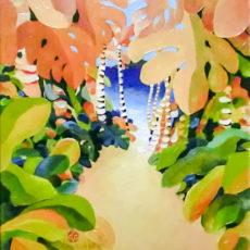 ヘレン・ウィルシャイアー作原画『Tropic Garden』サムネイル