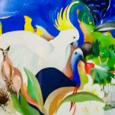 ヘレン・ウィルシャイアー作原画『Queenslander』サムネイル