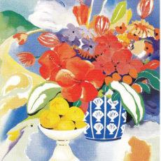 ヘレン・ウィルシャイアー作リトグラフ『Fruit & Flowers』サムネイル