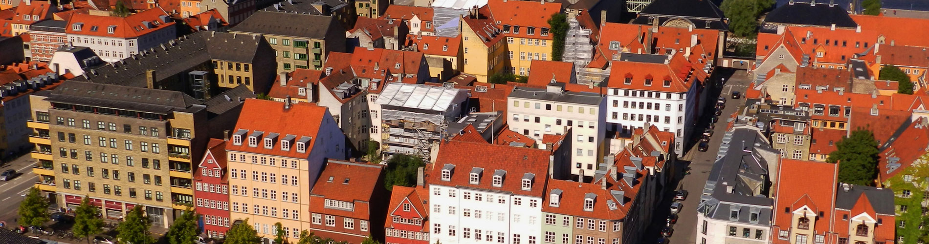 コペンハーゲンの町並み