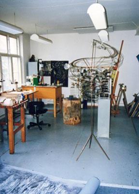 コペンハーゲンの自宅兼スタジオ